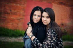 trinity christian high school senior and her sister