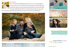 Jenny Watts Photography interviewed on Inspire Me Baby