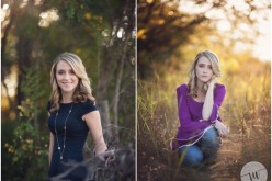 High School Senior starting out her photo session in a rustic ranch.